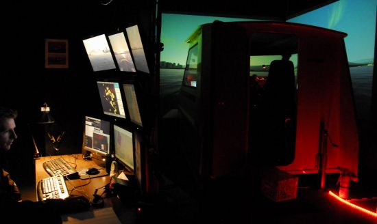 Simulator Cabin View